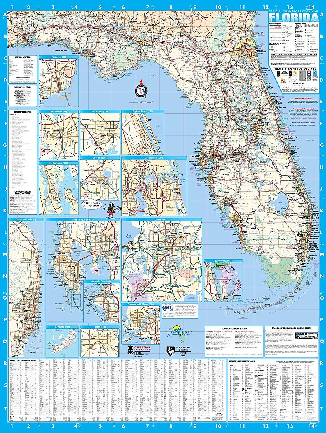 florida kayak fishing forecast in 2020 wall maps on laminated wall maps id=47748