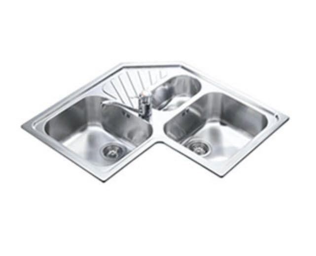 The Virtual Architecture Exhibition Corner Sink Kitchen Sink Kitchen Sink Drainers