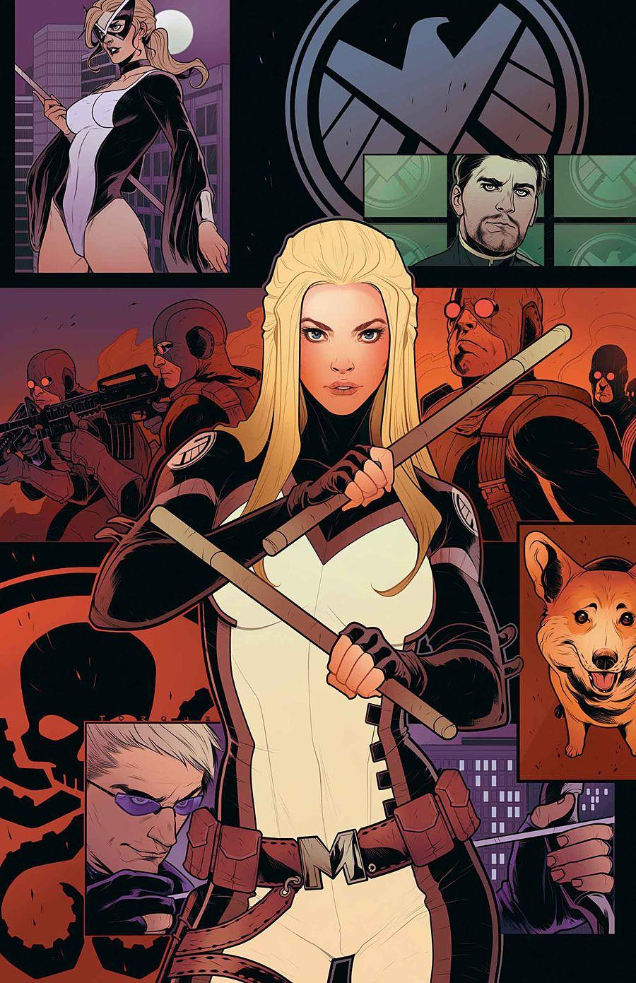 "artverso: ""Elizabeth Torque - Mockingbird "" | Marvel comics art, Mockingbird  marvel, Marvel comics"