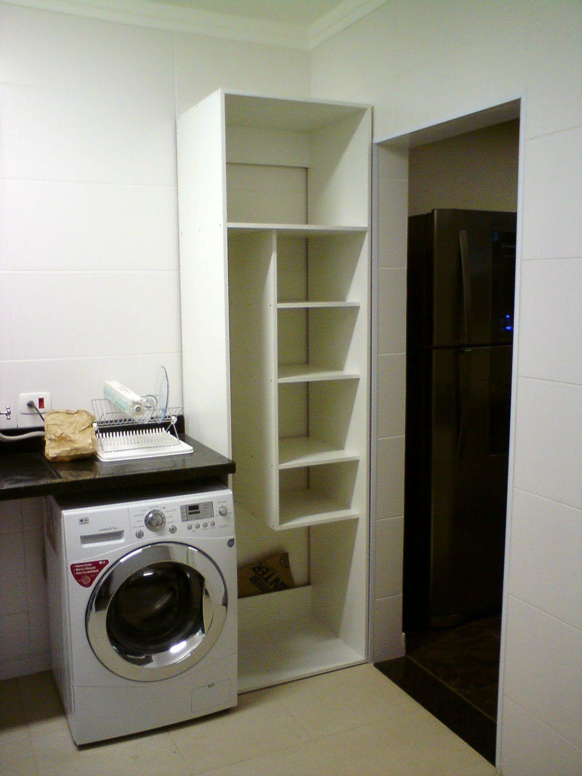 Adesivo Quarto De Bebe Nuvens ~ armario lavanderia Ideias inspiradoras Pinterest Armario lavanderia, Lavanderia e Armário