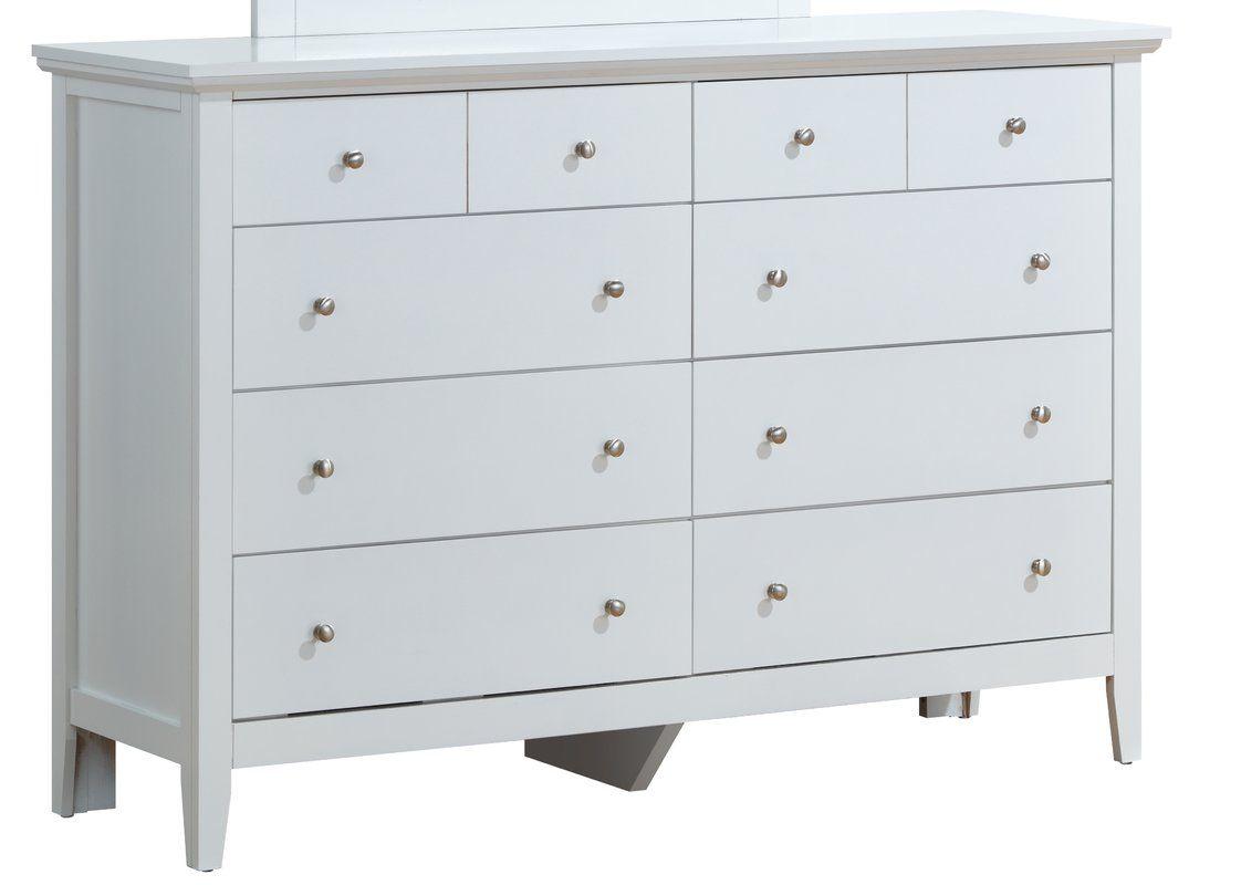 Sonja 8 Drawer Double Dresser 8 Drawer Dresser Double Dresser Furniture [ 800 x 1122 Pixel ]