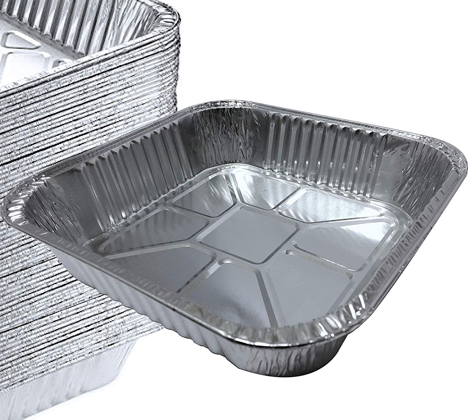 55 Pack 8a X 8a Square Pans I Deli Brownie Pan I Square Baking