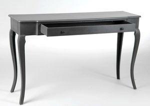 Mobili amadeus ~ Grande console d entrée grise de style baroque chez amadeus en