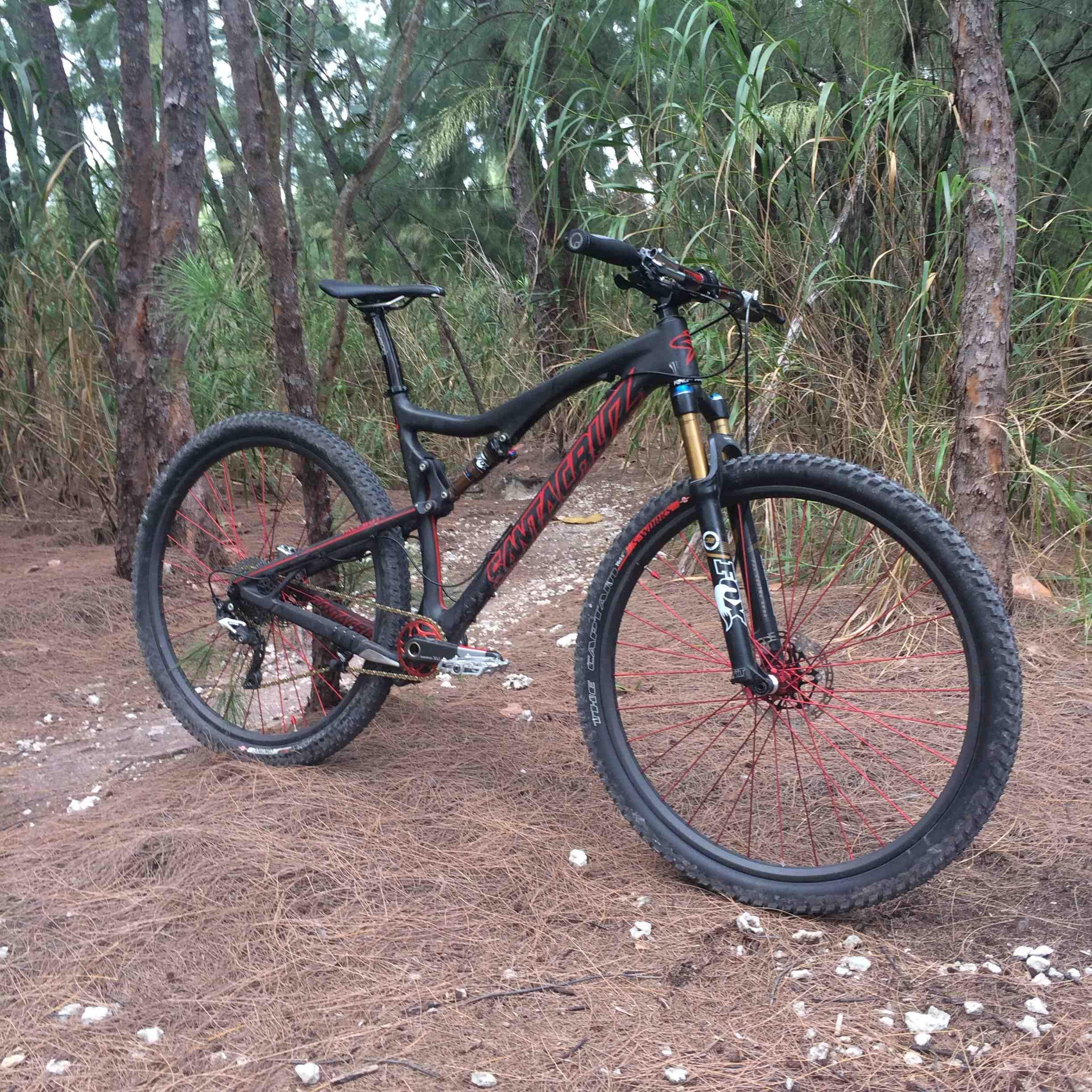 Santa Cruz Tallboy Carbon With Images Bike Ride