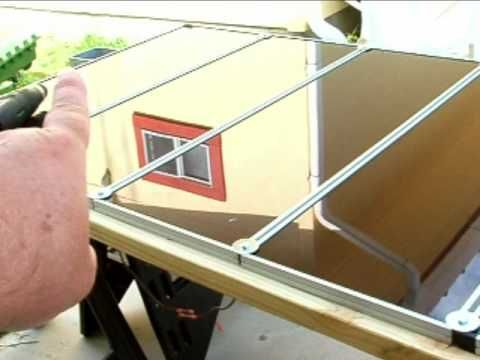 How To Install Harbor Freight Solar Panels Part 2 Solar Energy Panels Solar Panel Installation Solar Panels