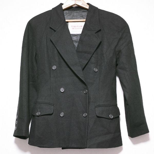 UNITED COLORS OF BENETTON DOUBLE BREASTED TAILORED JACKET Size: 42