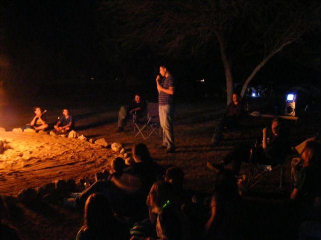 Camping Under the Stars also has campfire stories. Marana, AZ