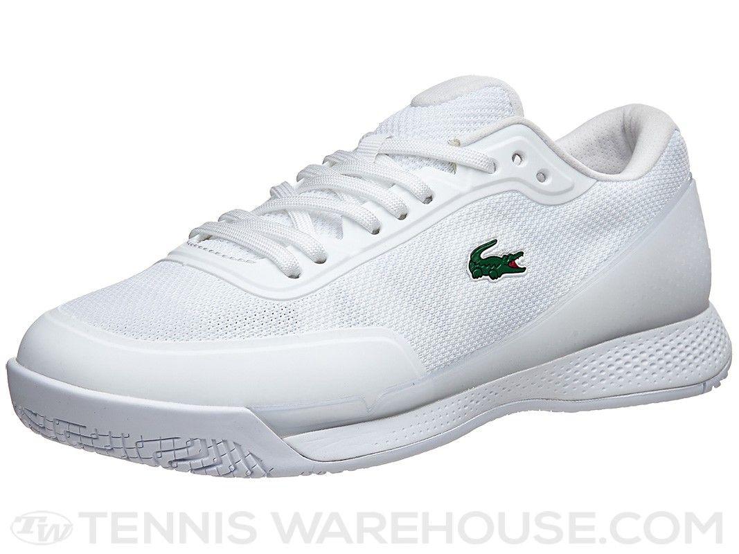 Lacoste Lt Pro White Men S Shoes Tennis Equipment Lacoste