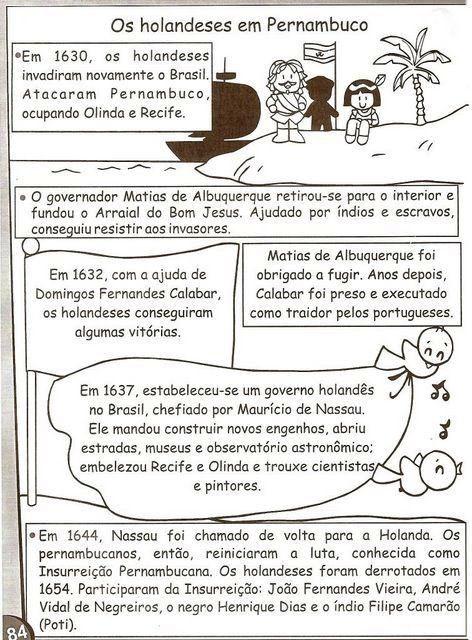 Atividades Historia Do Brasil 3 4 5 Anos Atividades De