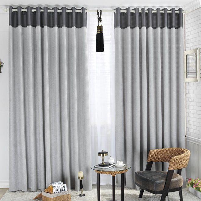 cortinas grises - Buscar con Google | Ideas para el hogar ...