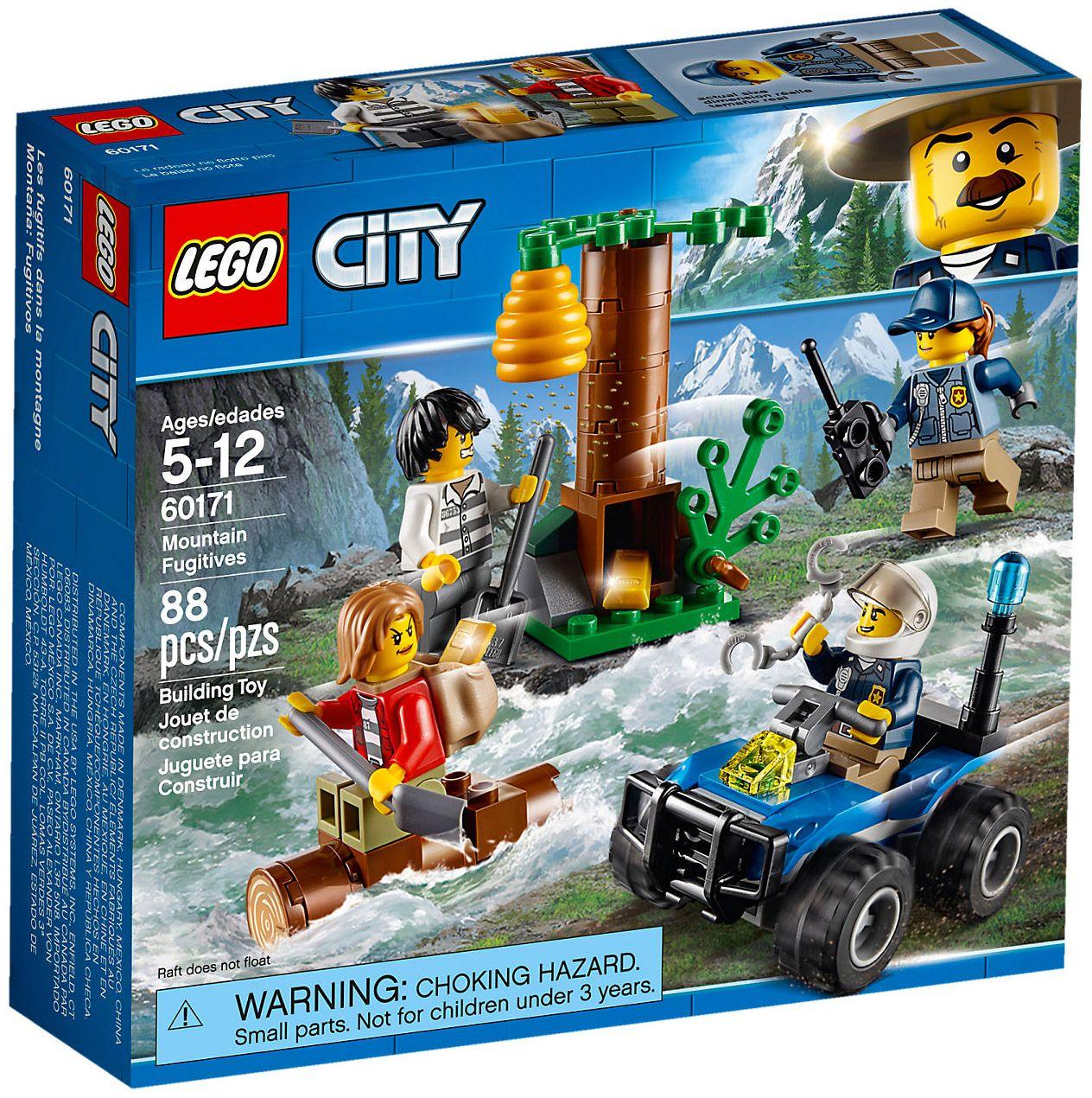 Lego City 60171 L Evasion Des Bandits En Montagne More Lego