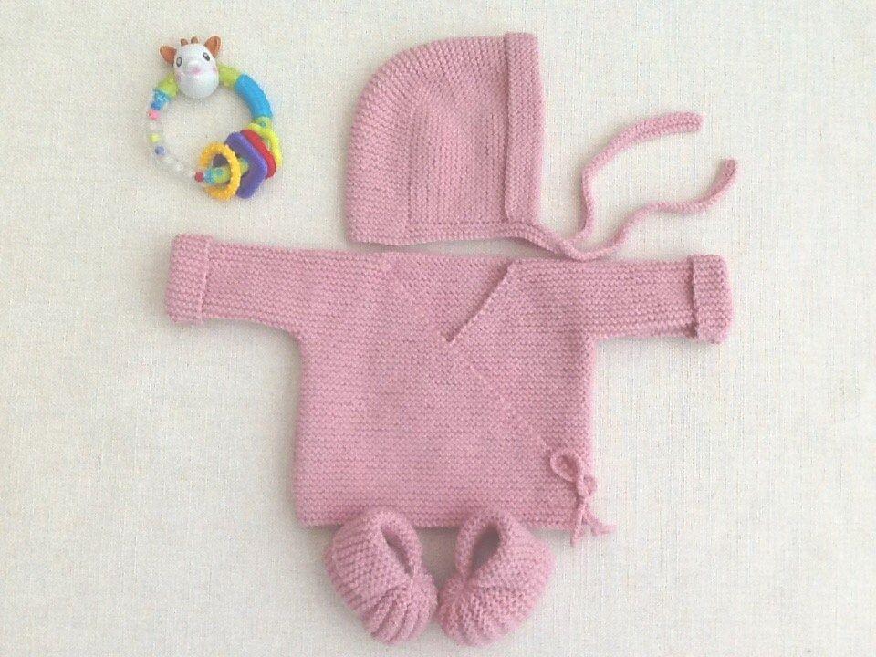 2 designs à choisir. Tricoté à la main 0 To 3 mois noël Baby bootees