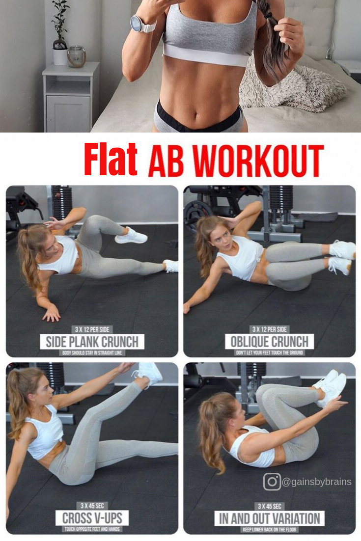Amazing abs workout at home. No equipment abs workout at