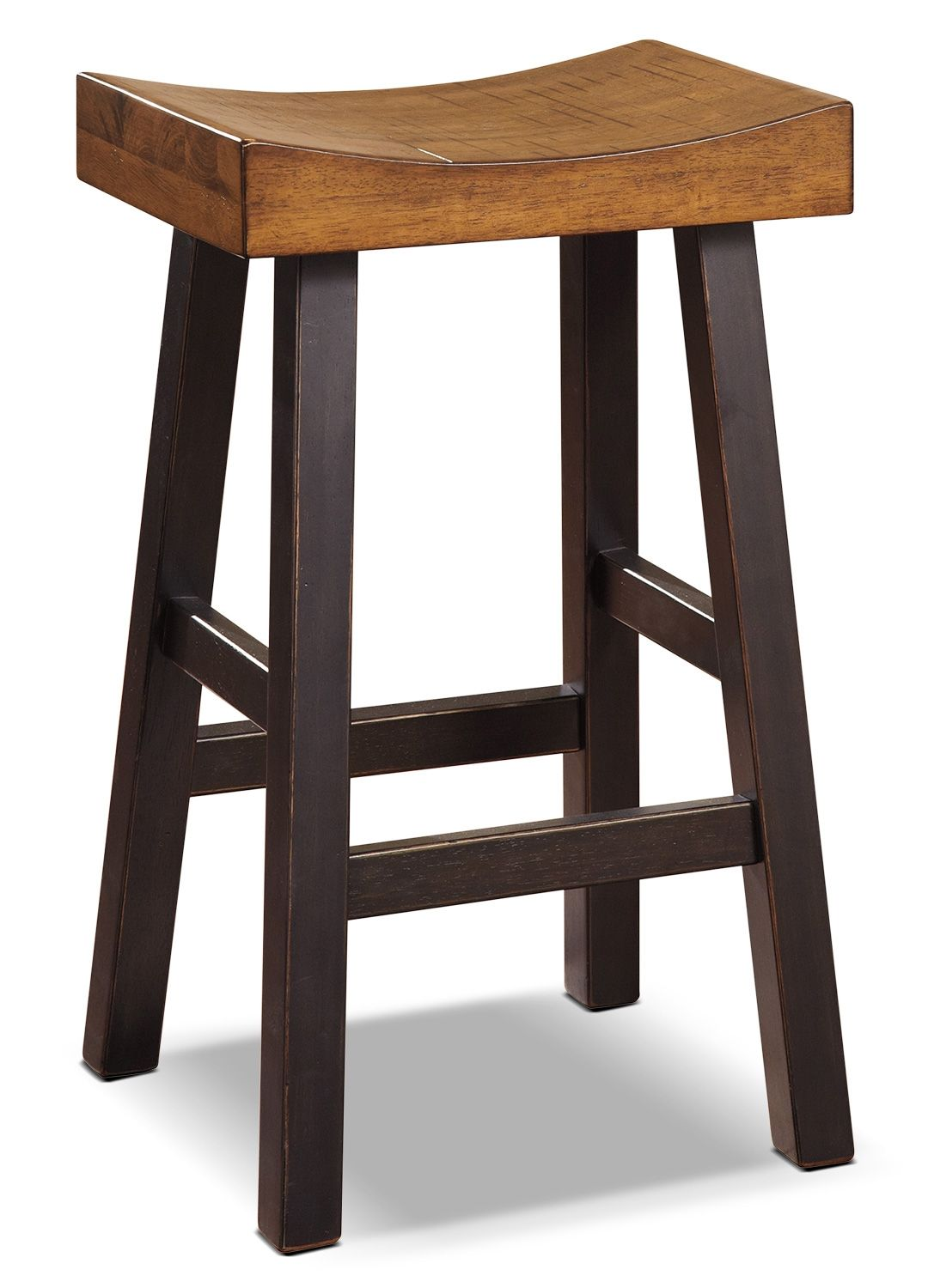 Take A Load Off On The Glosco 30 Inch Saddle Seat Bar Stool Whether