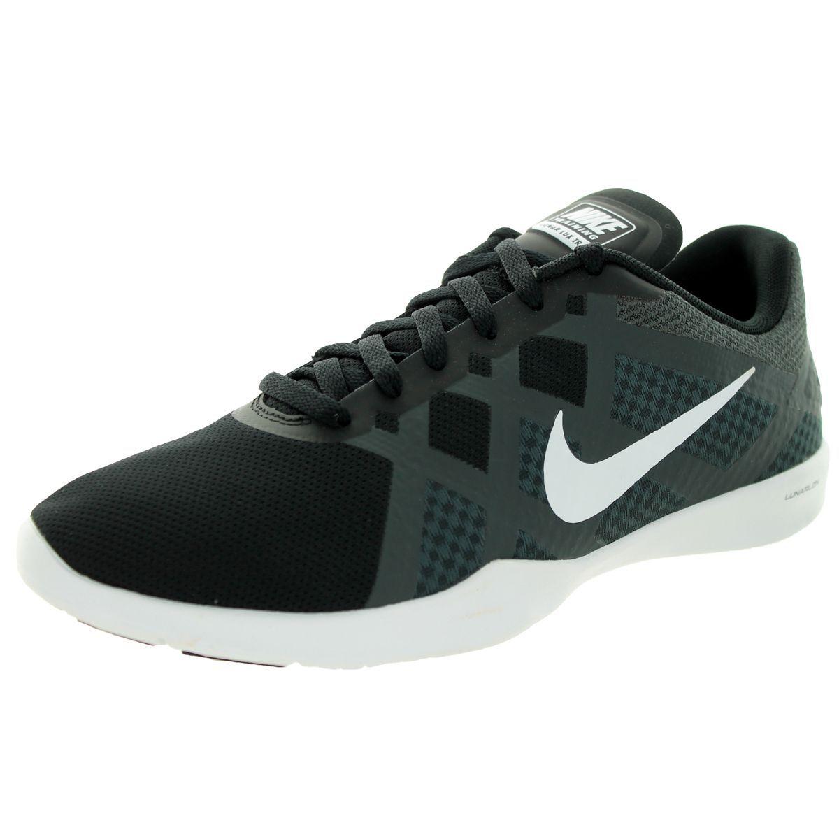 dc72ec241ea2 Nike Women s Lunar Lux Tr  White Anthracite Volt Training Shoe ...