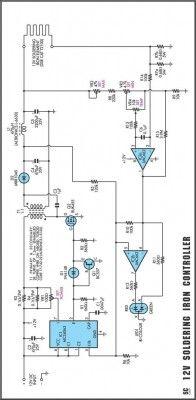 Temperature-Controlled Soldering Iron-Circuit diagram