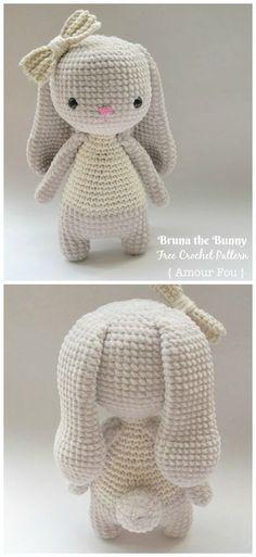 Amigurumi Bunny Free Crochet Patterns - Crochet & Knitting
