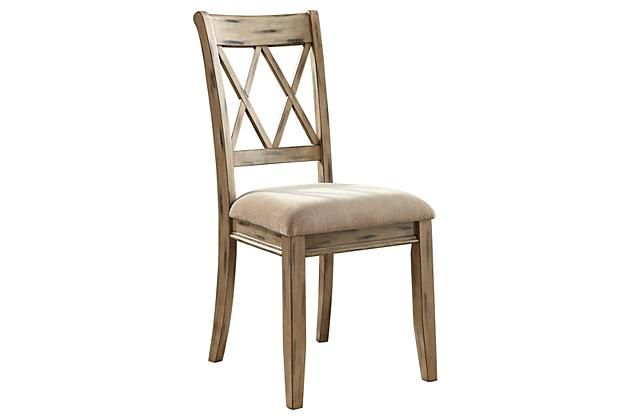 Antique White Mestler Dining Room Chair View 2 my kitchen ...