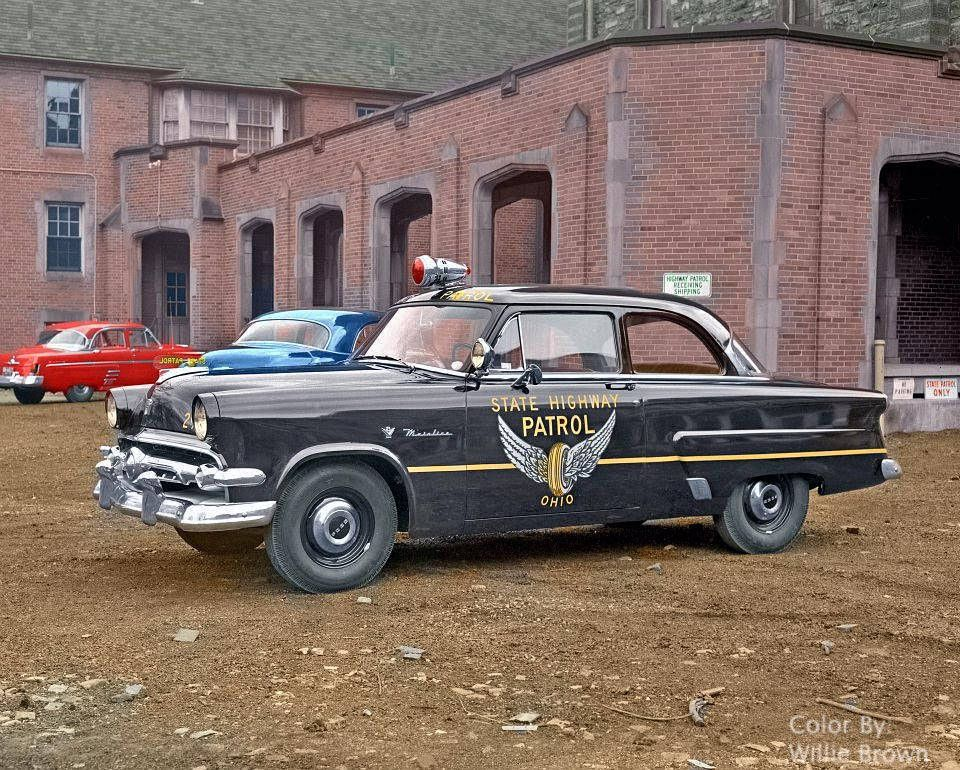 1954 Ohio State Highway Patrol   Police cars, Cars and Police vehicles