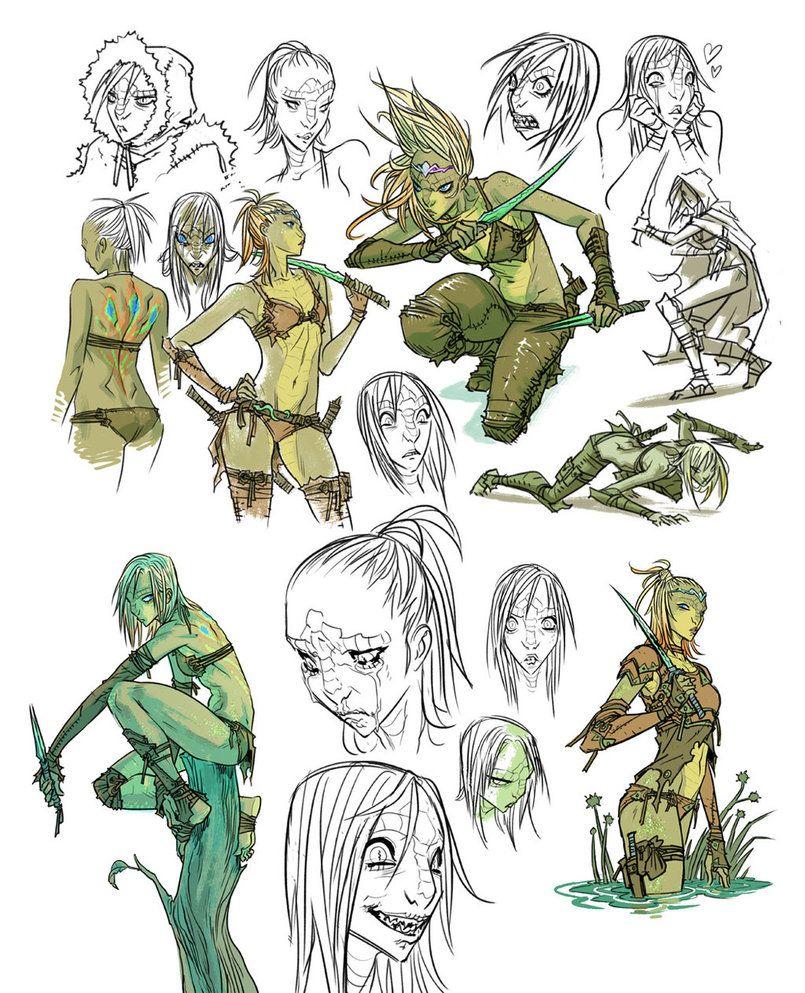 Kexilath Dnd Drawings By Mooncalfe Deviantart Com On Deviantart