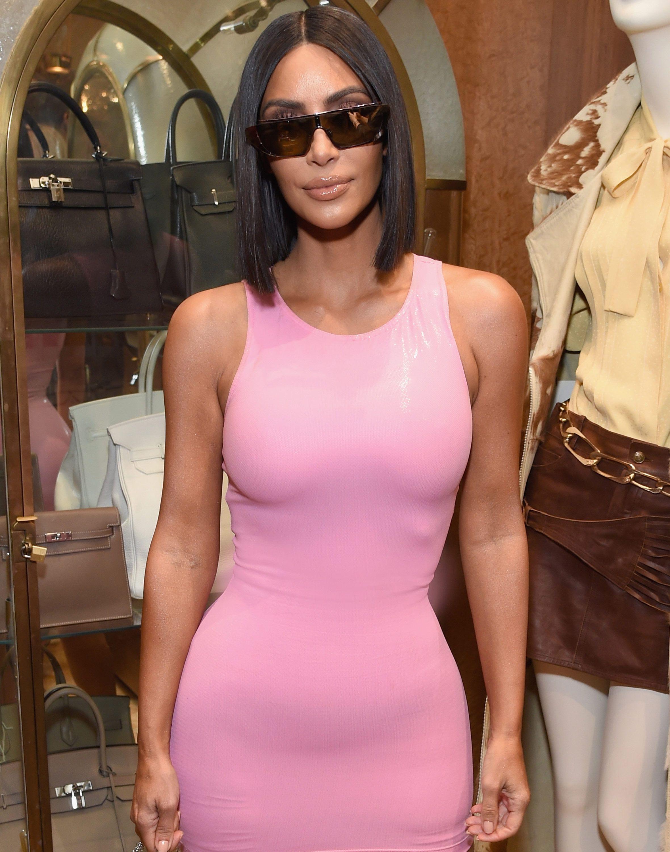 Kim Kardashian muestra su lujosa ropa interior | Celebrities ...