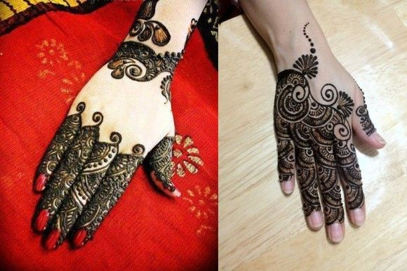Modern Arabic Mehndi Designs 2014 : Arabic mehndi designs 2014 for hands and feet :