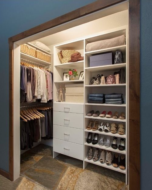 Reach In Closet Ideas For The Office And Guest Room