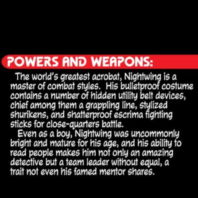 Nightwing bio ;)