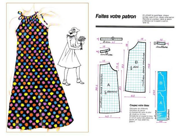 Patron robe facile couture