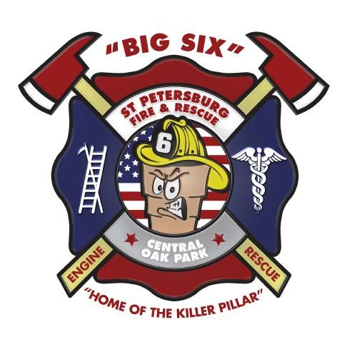 St  Petersburg Fire Rescue Station 6 | Patch Pride, Baby! | Fire