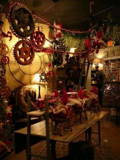 Santa S Workshop Christmas Santas Workshop Office