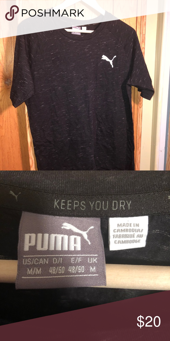 Speckled Puma Shirt Speckled T shirt by Puma. Excellent