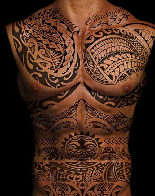 52 best polynesian tattoo designs with meanings for Best polynesian tattoo artist