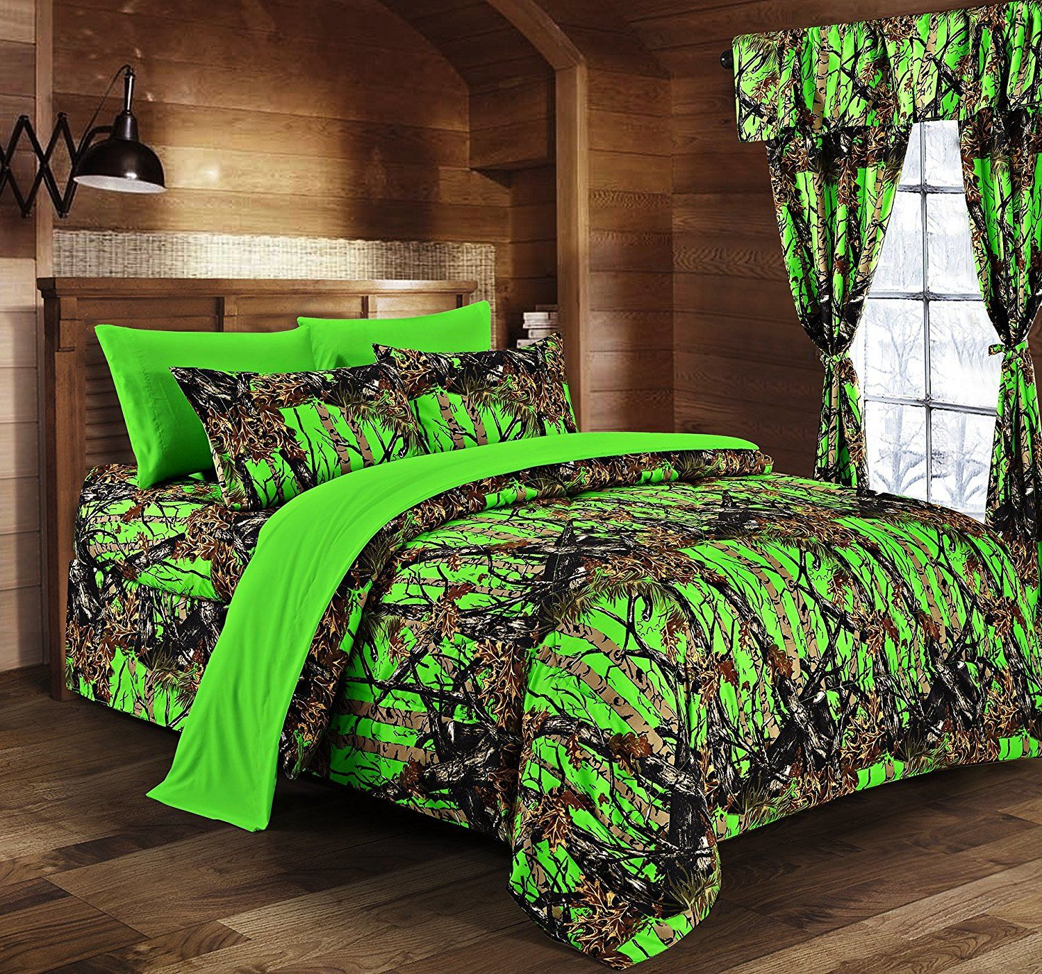 quilt lodge greenland home cabin larger view moose cabins full com dp set queen amazon comforters