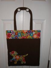 Tote Book or School Bag with Applique PDF Pattern includes Applique instructions Great for beginners Tote Book or School Bag with Applique PDF Pattern includes  Etsy This...
