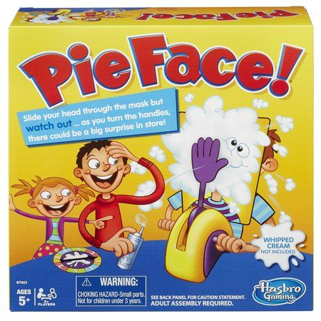 Free 2-day shipping on qualified orders over $35 Buy Pie Face Game