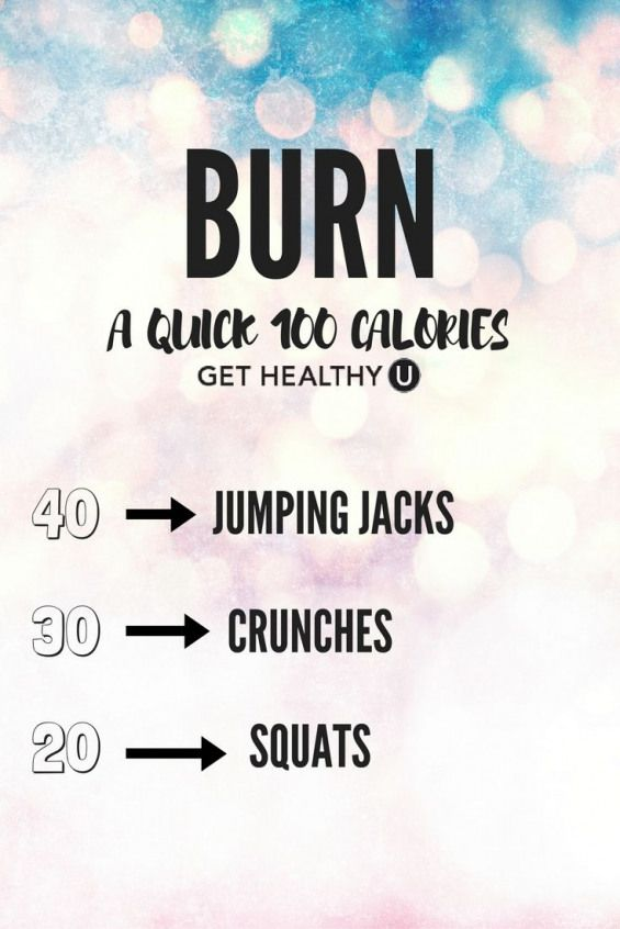 Busy? Us too! Do this quick workout to burn 100 calories ...
