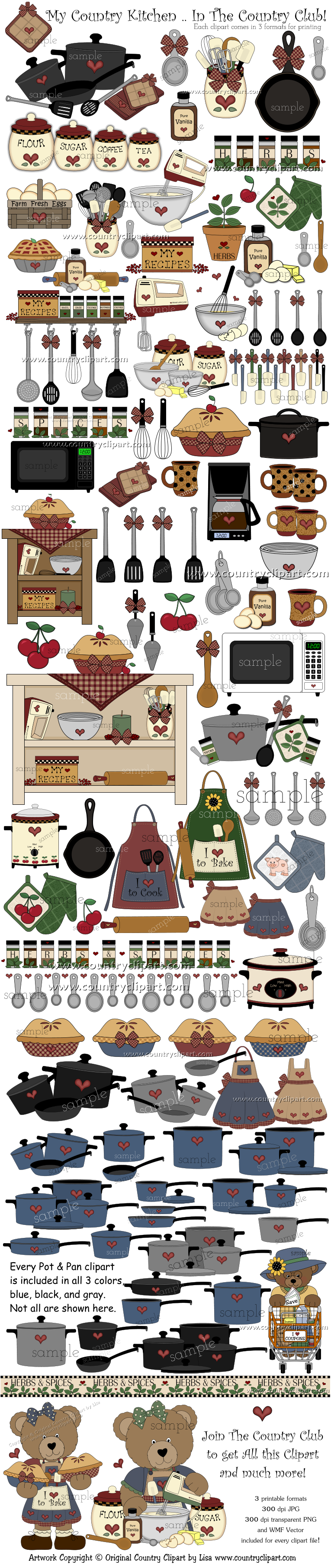 Kitchen Cooking Baking Clipart | All Time Favorite Pins ...