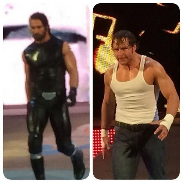 Dean Ambrose and seth Rollins | The Shield