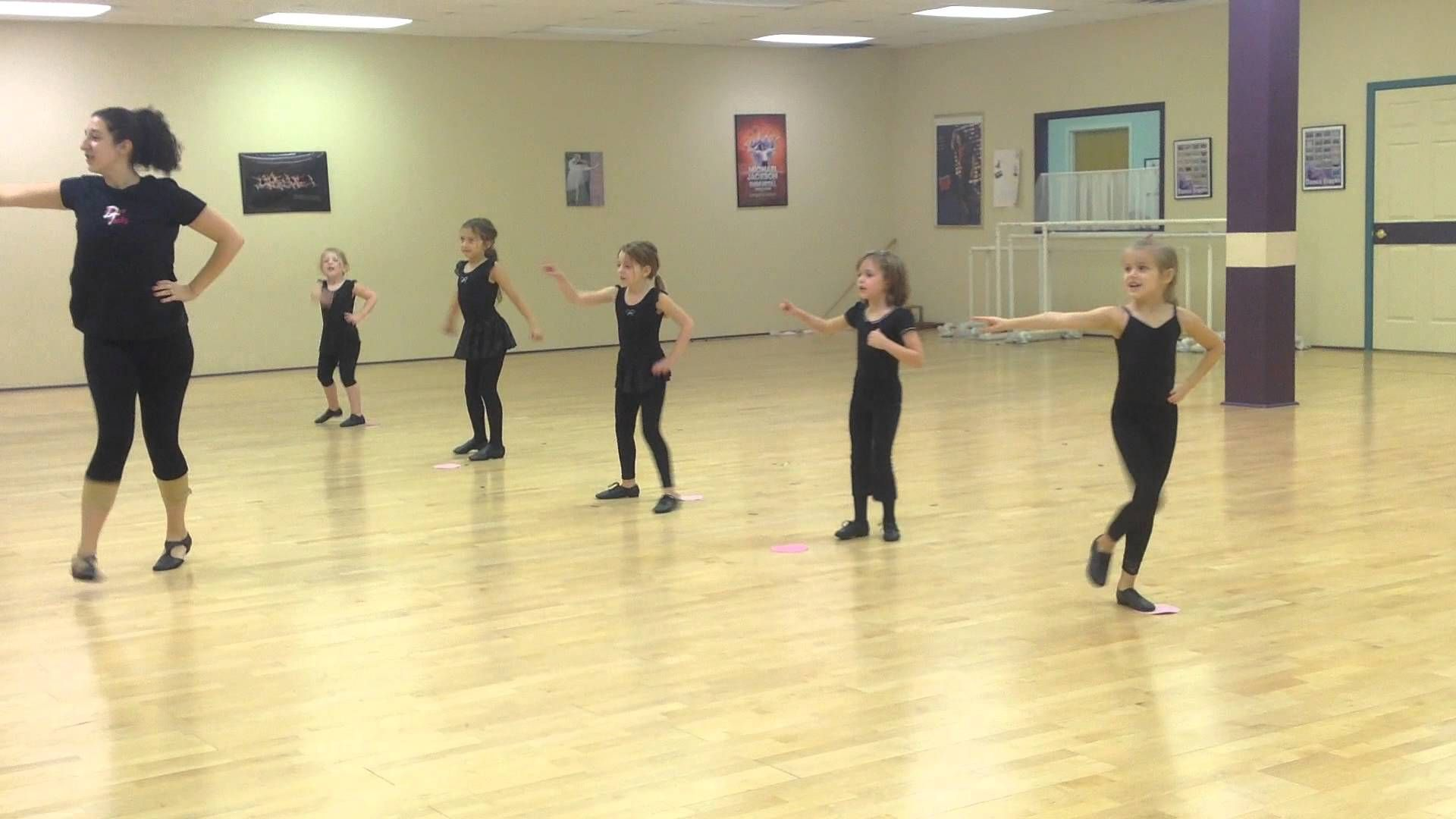 My little 5-7 year old recreational Hip Hop/Jazz class on ...