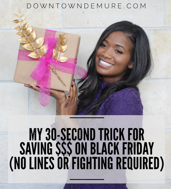 My 30-Second Trick for Saving Money on Black Friday (No Lines or Fighting Required) Using @shoptagr