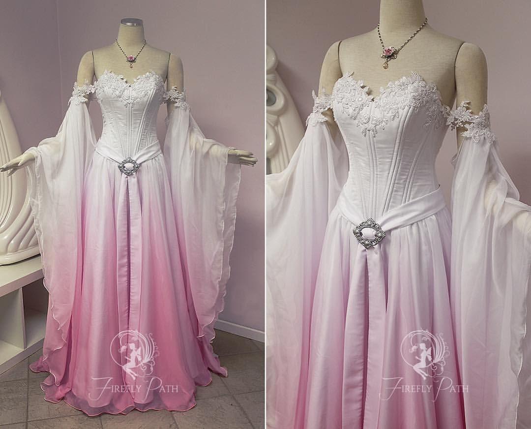 Sakura Elven Bridal Gown Our Bridal Client Anne Commissioned