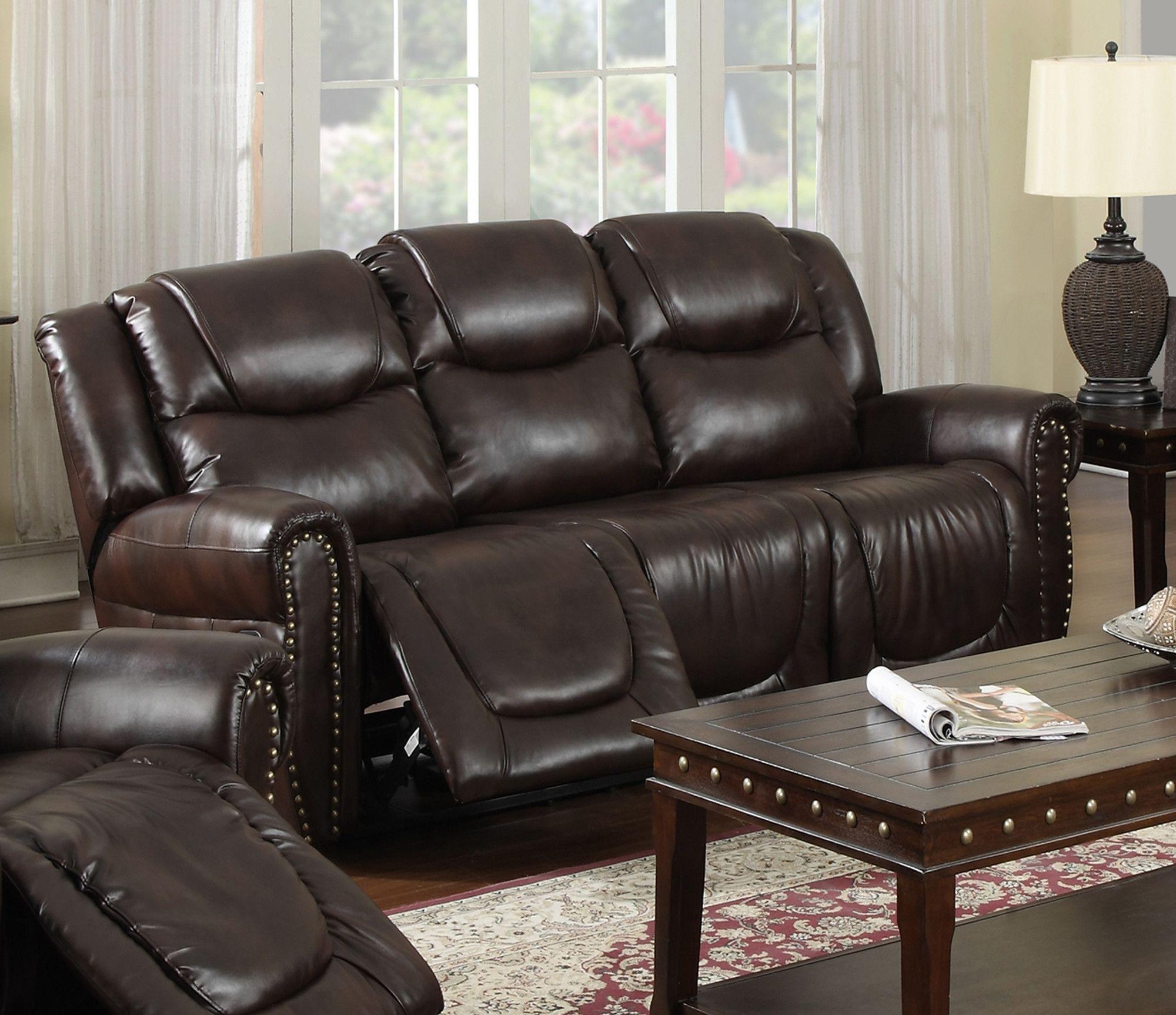 Toledo Reclining Sofa Reclining sofa, Sofa upholstery, Sofa