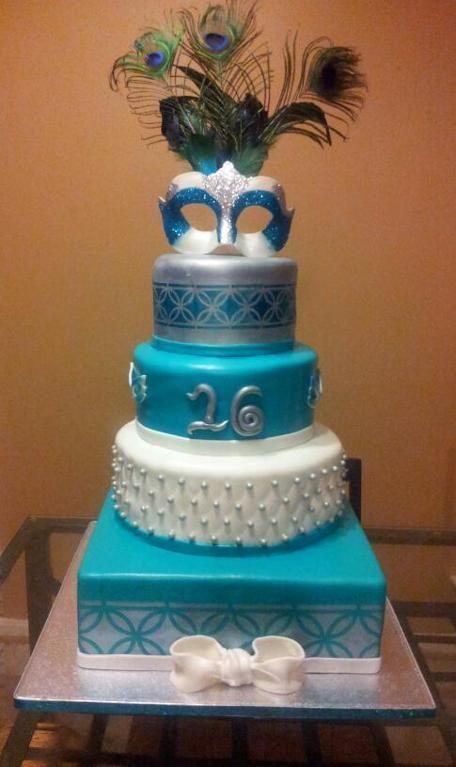 Monica Escobar Sweet 16 Masquerade Cake 12oct2013 In 2018 My Sweet