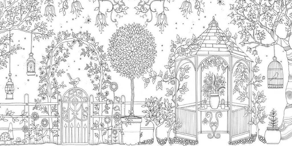 Secret Garden Coloring Pages Free Online Printable Sheets For Kids Get The Latest Images