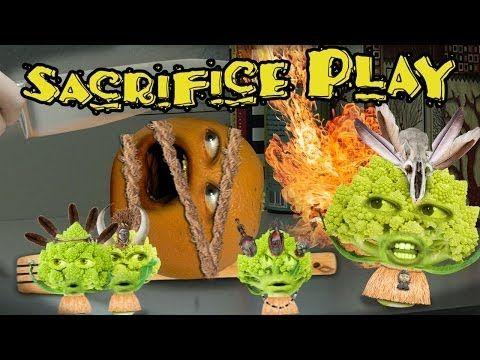 Annoying Orange - Sacrifice Play (Ft. Mikey Bolts, Steve Zaragoza & Alesia Glidewell)