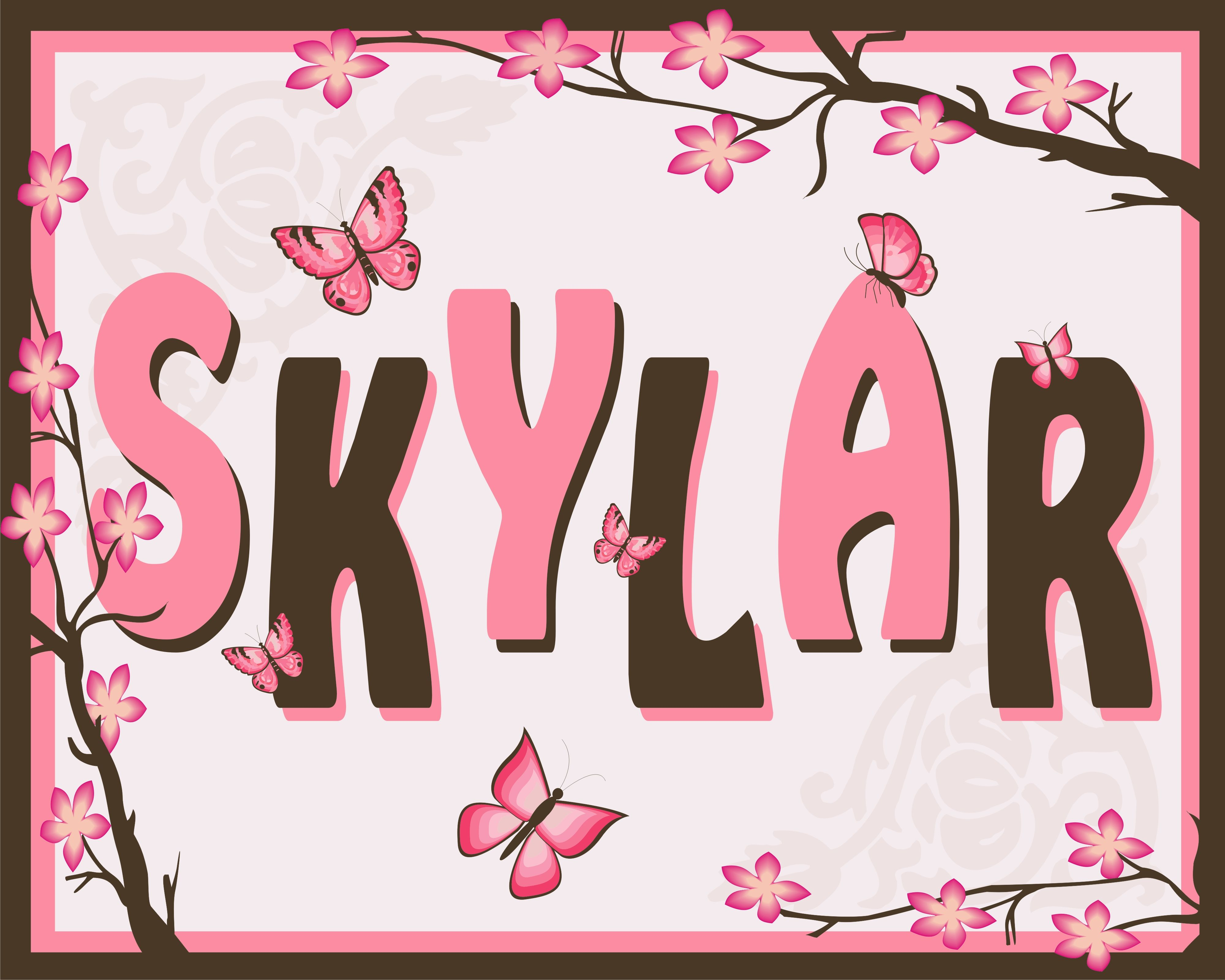 27 best skylar images on pinterest baby gifts baby girl names skylar name art created in coreldraw name meaningsbaby negle Choice Image