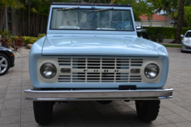 Seller of Classic Cars – 1966 Ford Bronco (Arcadian Blue/Silver/ Gray)