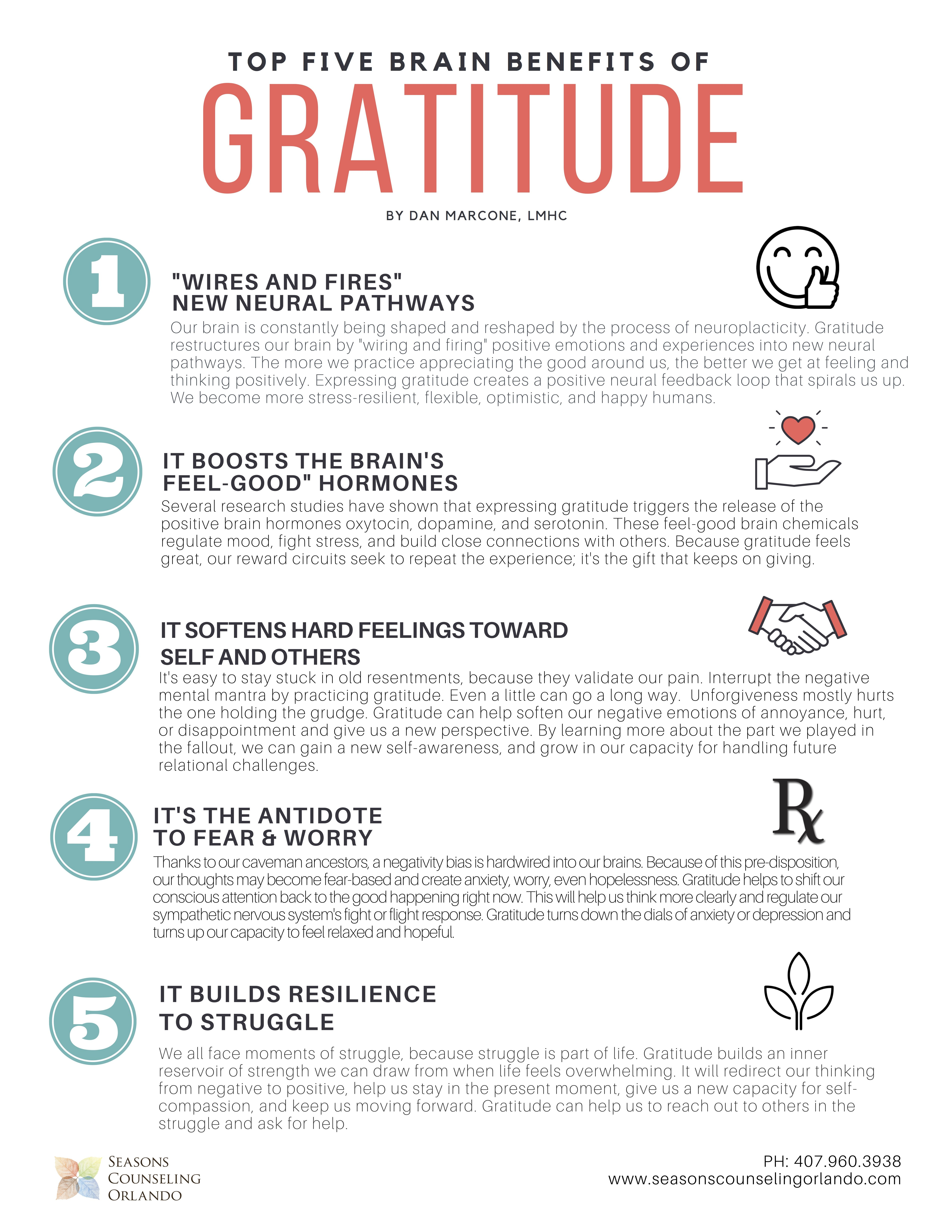 The Brain Benefits Of Gratitude