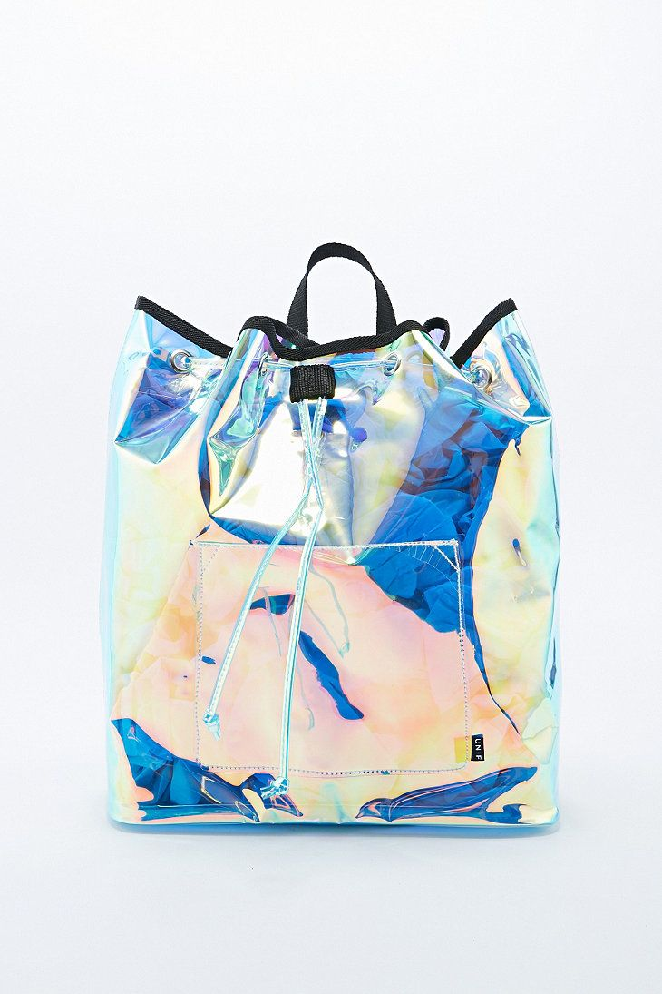UNIF Iridescent Vapor Backpack.  6c1fb03d66b0d